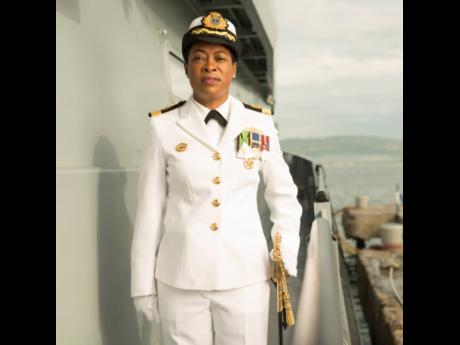 Commodore Antonette Wemyss-Gorman is set to take the reins of the Jamaica Defence Force in January 2022.