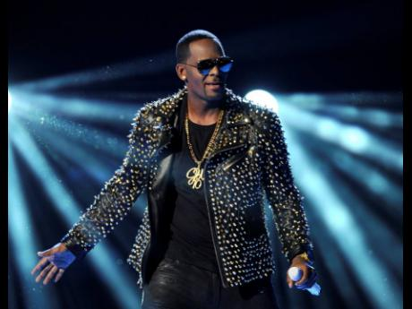 R Kelly performs at the BET Awards at the Nokia Theatre on Sunday, June 30, 2013, in Los Angeles.