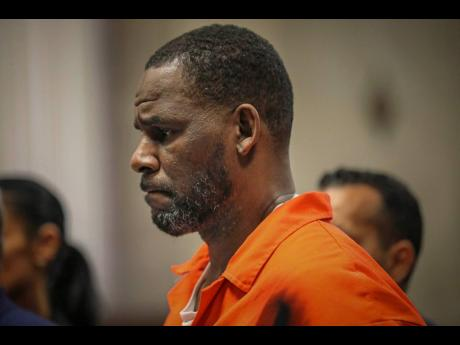 In this September 17, 2019 file photo, R Kelly appears during a hearing at the Leighton Criminal Courthouse in Chicago.