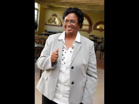 Jackie Cowan, President of the Jamaica Volleyball Association