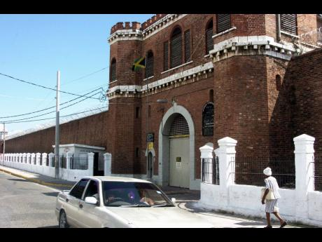 The Tower Street Adult Correctional Centre in downtown Kingston.