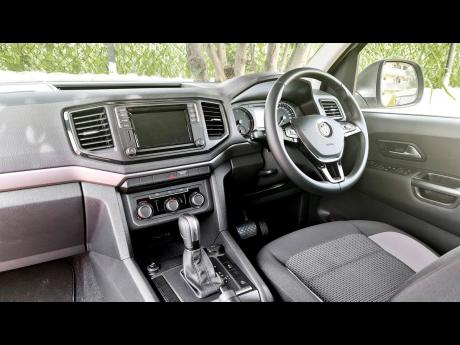 This is a telescopic Steering wheel with multifunction buttons.