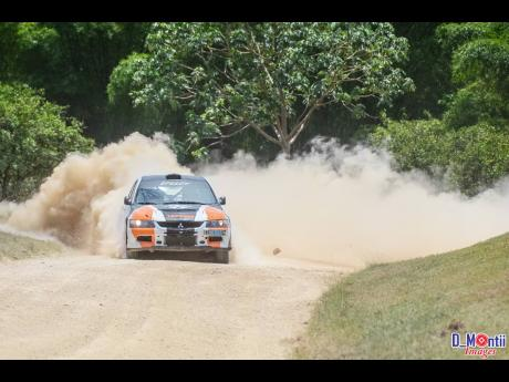 Once you enter a rally stage, you are guaranteed either dust or mud.
