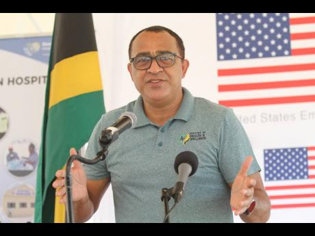 Dr Christopher Tufton, Minister of Health and Wellness