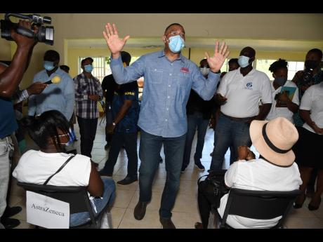 PM Holness sounds warning to unvaccinated