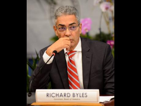 BOJ Governor Richard Byles says the central bank will use its arsenal to defend the inflation target.