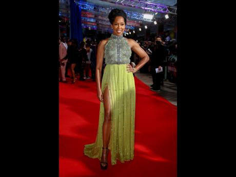 Regina King may play sidekick Trudy Smith in 'The Harder They Fall', but there is nothing inferior in her fashion choices.