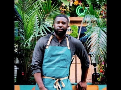 Chef and owner of Omar's Kitchen, Omar Walters.