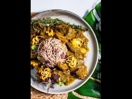 The curried oxtail at Omar's Kitchen is a top seller.