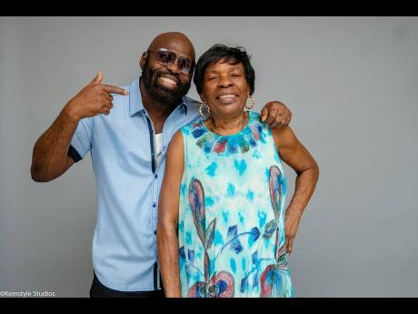 Richie Stephens and Mama Carmen.