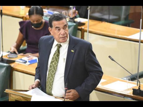 Member of Parliament Homer Davis.
