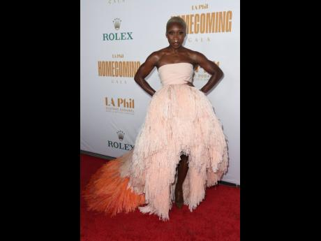 Cynthia Erivo walks the red carpet for the Los Angeles Philharmonic Homecoming Concert & Gala before her show-stealing serenade.