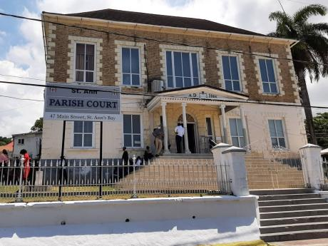 St Ann Parish Court in St Ann's Bay.