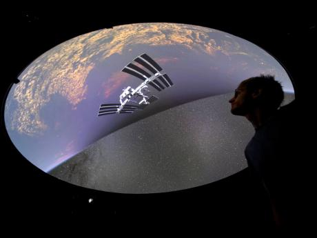 Hadrien Gurnel, software engineer at  EPFL's Laboratory for Experimental Museology (eM+), explores the most detailed 3D map of the universe with the virtual reality software VIRUP, Virtual Reality Universe Project, developed by Swiss Federal Institute of