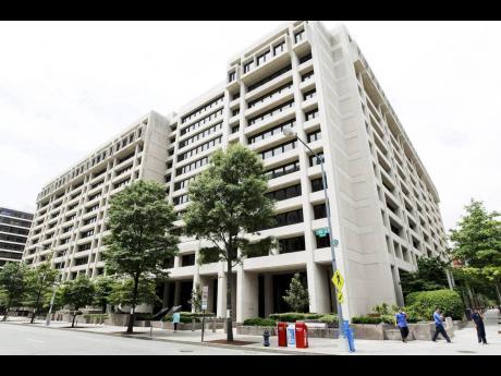 The  International Monetary Fund headquarters in Washington.