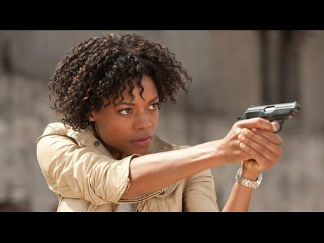 British-Jamaican actress, Naomie Harris, reprises her role as the sassy Moneypenny in 'No Time to Die'.
