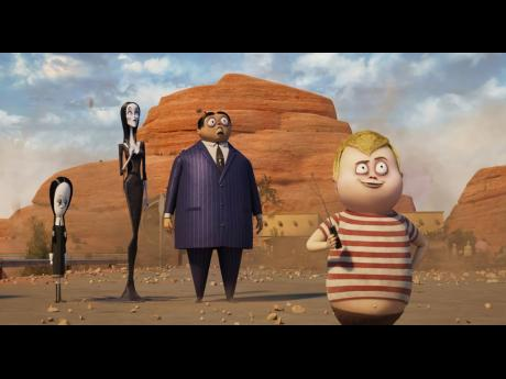 Everyone's favourite spooky family is back in this animated comedy sequel, 'The Addams Family 2'.