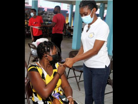 Approximately nine per cent of Jamaicans are fully vaccinated, but at the University Hospital of the West Indies, National Chest Hospital, and Kingston Public Hospital, the percentage of vaccinated patients battling COVID-19 is only about one per cent. The