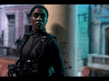Lashana Lynch's character, Nomi, takes the codename 007 with Daniel Craig's James Bond AWOL and out of the British Secret Service.