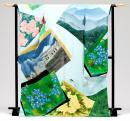 Jamaica's kimono print.