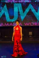 The 25-year-old wowed judges at the Miss Jamaica World coronation.